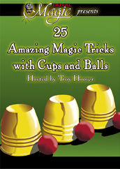 DVD - 25 Amazing Tricks with Cups and Balls