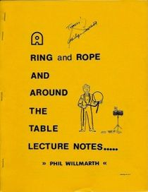 A Ring and Rope and Around The Table Lecture Notes