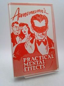 Annemann's Practical Mental Effects - HB