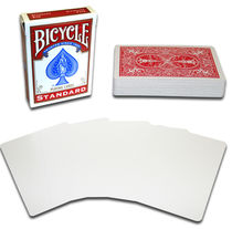 Blank Face Deck - Red Backs