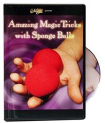 DVD - Amazing Magic Tricks with Sponge Balls