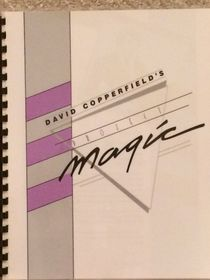 David Copperfield's Project Magic Booklet