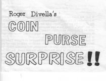 Divella's Coin Purse Surprise
