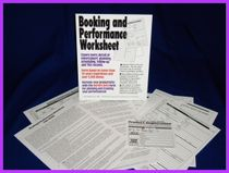 Eddy Wade's Booking and Performance Worksheet