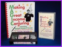 "Eddy Wade's ""Making A Great Income Conjuring"" VIdeo & Printed Lecture Notes"