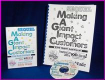 "Eddy Wade's Lecture Sequel to M.A.G.I.C. = ""Making A Great Impact on Customers"" Audio CD Lecture"