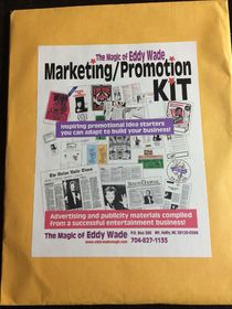 Eddy Wade's Marketing & Promotional Samples Kit