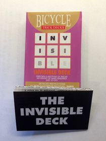 Invisible Deck - Bicycle Back