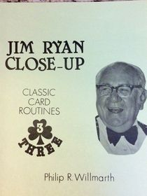 "Jim Ryan Close-Up Series #3 ""Class Card Routines"""