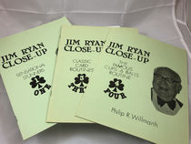 Jim Ryan Close-Up 3 Book Deal