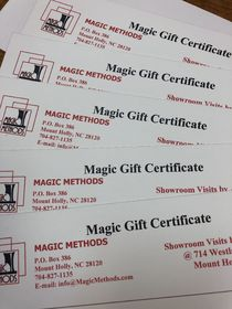 $100.Magic Methods Gift Certificate