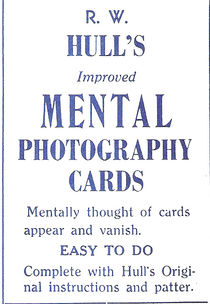 Mental Photography Deck - Poker Size