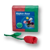 Napkin Rose Refill Pack-Red