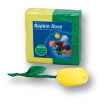 Napkin Rose Refill Pack-Yellow