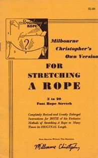 Stretching A Rope Routine Booklet