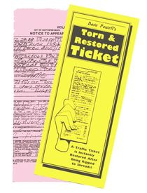 Torn and Restored Traffic Ticket