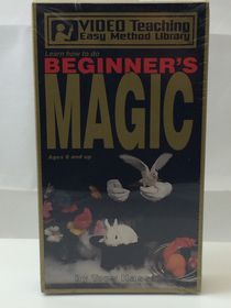 VHS- Beginner's Magic Video Tape