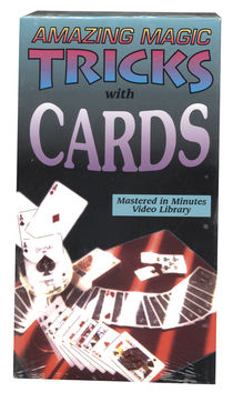 VHS - Amazing Magic Tricks with Cards