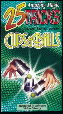 VHS - 25 Amazing Magic Tricks With Cups & Balls
