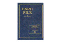 Card File by Jerry Mentzer