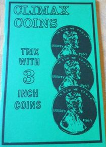 "Climax Coins -""Trix with 3"" Coins"""