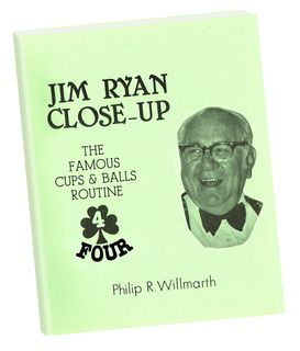 Jim Ryan Book 4 Cups & Balls